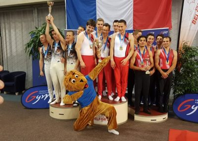 UN PODIUM NATIONAL POUR ANNECY GYM AU TROPHEE FEDERAL!
