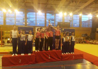 Gymnastique Artistique: Championnat interdépartemental par équipes