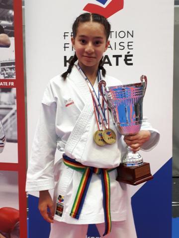 MAI-LINH – Championne de France de KARATE KATA