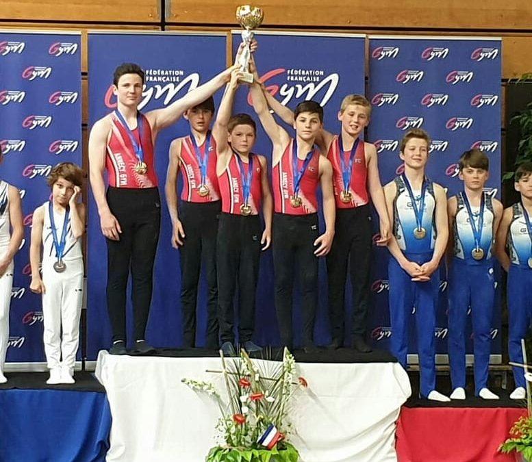 Gymnastique Artistique Masculine: 1 Titre et 1 podium au Championnat de France