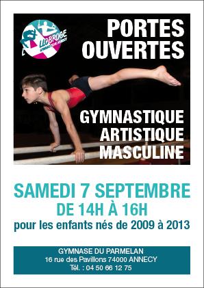 Portes ouvertes Gymnastique Artistique Masculine