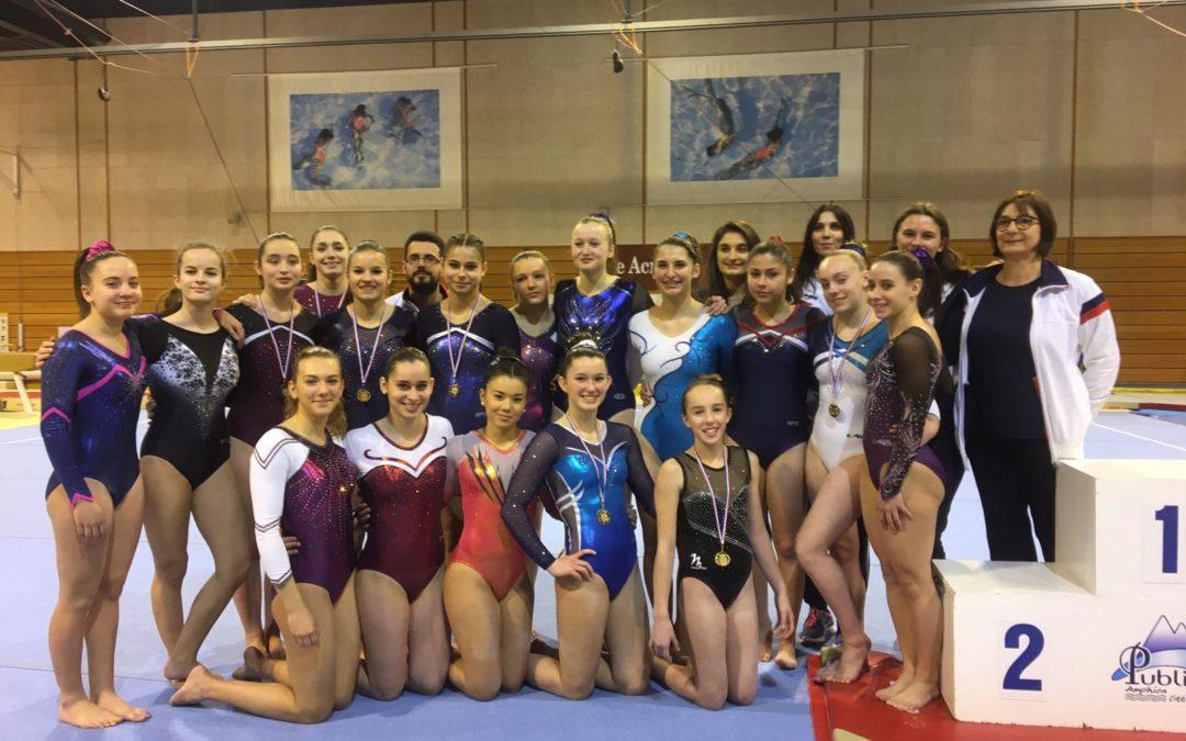 Gymnastique Artistique Féminine: Championnat Départemental individuel.